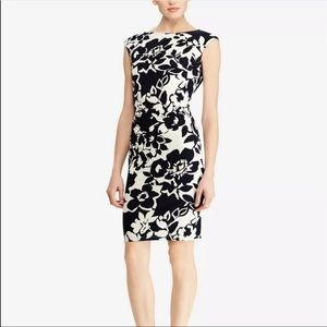 American Living Floral Ruched Jersey Dress NWT